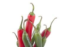 Πιπέρια τσίλι Στοκ Εικόνα