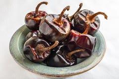 Πιπέρια τσίλι Cascabel στοκ εικόνες με δικαίωμα ελεύθερης χρήσης