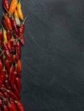 Πιπέρια τσίλι Peperoncino Στοκ εικόνα με δικαίωμα ελεύθερης χρήσης