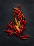 Πιπέρια τσίλι Peperoncino Στοκ Εικόνα