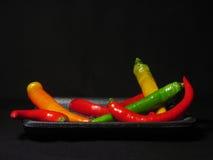 πιπέρια Στοκ Εικόνες