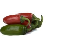 πιπέρια jalapeno Στοκ φωτογραφία με δικαίωμα ελεύθερης χρήσης