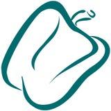 πιπέρι γραμμών κουδουνιών &tau ελεύθερη απεικόνιση δικαιώματος