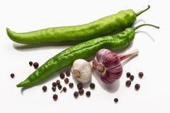 Πιπέρι και κρεμμύδι Στοκ φωτογραφίες με δικαίωμα ελεύθερης χρήσης