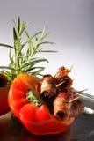 πιπέρι μπέϊκον που γεμίζεται Στοκ εικόνες με δικαίωμα ελεύθερης χρήσης