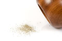 πιπέρι μύλων Στοκ εικόνα με δικαίωμα ελεύθερης χρήσης