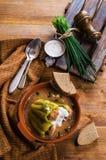 Πιπέρι που γεμίζεται πράσινο Στοκ εικόνα με δικαίωμα ελεύθερης χρήσης