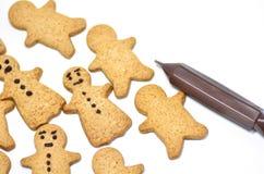πιπερόριζα μπισκότων στοκ εικόνες