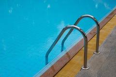 Πισίνα με όμορφο Στοκ Εικόνες