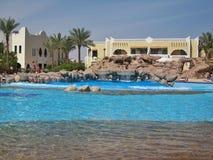 Πισίνα στη λέσχη EL Faraana Στοκ φωτογραφία με δικαίωμα ελεύθερης χρήσης