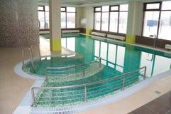 Πισίνα στο ξενοδοχείο Στοκ Φωτογραφία