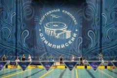 Πισίνα του αθλητισμού σύνθετου Στοκ φωτογραφία με δικαίωμα ελεύθερης χρήσης