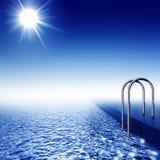Πισίνα Στοκ φωτογραφία με δικαίωμα ελεύθερης χρήσης