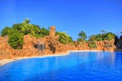 Πισίνα, Tenerife, κανάρια νησιά Στοκ Εικόνες