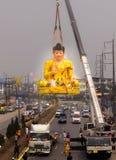 Πιστεψτε στο μεγάλο Βούδα Στοκ Φωτογραφίες