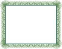 πιστοποιητικό Στοκ εικόνα με δικαίωμα ελεύθερης χρήσης