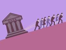Πιστωτές. διανυσματική απεικόνιση