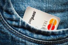 Πιστωτικές κάρτες Στοκ εικόνες με δικαίωμα ελεύθερης χρήσης
