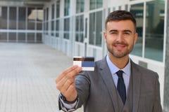 πιστωτική εμφάνιση καρτών ε Στοκ φωτογραφίες με δικαίωμα ελεύθερης χρήσης
