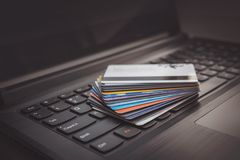 πιστωτικό πληκτρολόγιο &upsil στοκ εικόνες