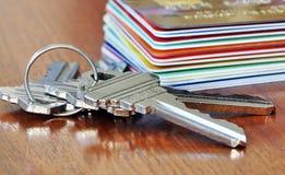 πιστωτικό σπίτι στοκ εικόνες