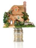 πιστωτικό σπίτι στοκ φωτογραφία με δικαίωμα ελεύθερης χρήσης