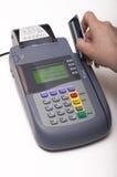 πιστωτικό τερματικό καρτών Στοκ Φωτογραφίες
