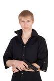 πιστόλι ατόμων Στοκ φωτογραφία με δικαίωμα ελεύθερης χρήσης