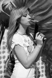 πιστόλι κοριτσιών Στοκ εικόνες με δικαίωμα ελεύθερης χρήσης