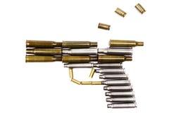 πιστόλι πυροβόλων όπλων π&upsilon Στοκ Φωτογραφία