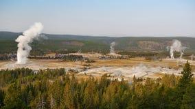 πιστός παλαιός Το μεγαλύτερο geyser στο Yellowstone Στοκ εικόνες με δικαίωμα ελεύθερης χρήσης