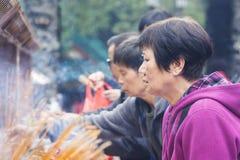 Πιστός στην προσευχή Στοκ Φωτογραφίες