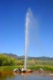 πιστό geyser το παλαιό s calistoga Καλιφό&rho Στοκ Εικόνες