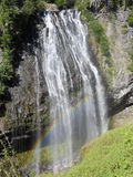 Πιό βροχερό εθνικό πολιτεία της Washington Ηνωμένες Πολιτείες πάρκων FallsMount Narada στοκ εικόνα