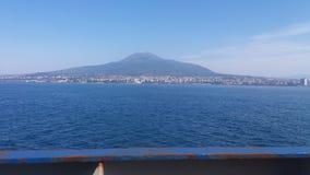 Πιό επικίνδυνο ηφαίστειο του Βεζούβιου στην Ιταλία στοκ φωτογραφίες με δικαίωμα ελεύθερης χρήσης