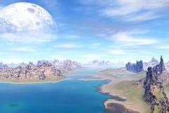 Πιό παράξενοι πλανήτες Στοκ φωτογραφία με δικαίωμα ελεύθερης χρήσης