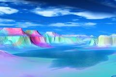 Πιό παράξενοι πλανήτες Στοκ εικόνες με δικαίωμα ελεύθερης χρήσης