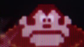 Πιό στενός μακρο χαρακτήρας γορίλλων ECU από το γάιδαρο Kong κλασικό αναδρομικό Arcade Β '' απόθεμα βίντεο