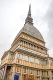 Πιό ψηλά κτήρια του Τορίνου antonelliana τυφλοπόντικων στην Ιταλία Στοκ Εικόνα