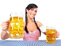 πιό beerfest πιό oktoberfest στοκ φωτογραφίες