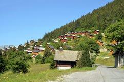 πιό corbier πέρασμα βουνών της Γαλλίας Στοκ Φωτογραφία