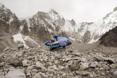 πιό everest ελικόπτερο Νεπάλ στοκ εικόνες με δικαίωμα ελεύθερης χρήσης