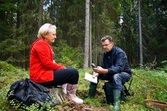 πιό forrest πρεσβύτερος ζευγών Στοκ Εικόνες