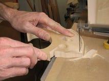 πιό luthier Στοκ εικόνα με δικαίωμα ελεύθερης χρήσης