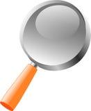 πιό magnifier Στοκ εικόνες με δικαίωμα ελεύθερης χρήσης
