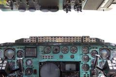Πιλοτήριο αεροπλάνων Στοκ Φωτογραφίες