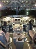 πιλοτήριο Στοκ εικόνα με δικαίωμα ελεύθερης χρήσης