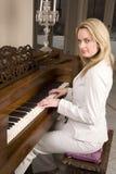 πλάγια όψη πιάνων στοκ φωτογραφία