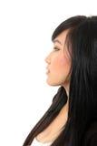 Πλάγια όψη της όμορφης γυναίκας Στοκ φωτογραφία με δικαίωμα ελεύθερης χρήσης