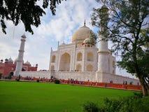 Πλάγια όψη Mahal Taj Στοκ Εικόνα